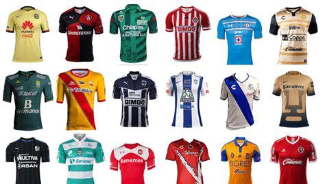 Guía de Camisetas de la Liga MX