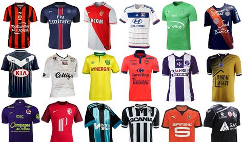 Guía de camisetas de la Ligue 1 Francesa