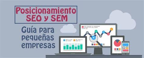 Guía de posicionamiento SEO y SEM para pequeñas empresas