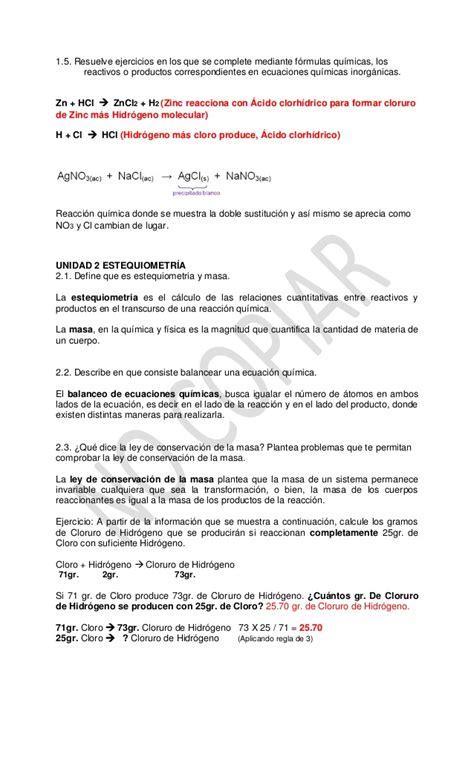 Guía de Química II RESUELTA para Examen Extraordinario IPN ...