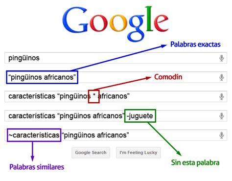Guía de trucos de búsqueda en Google | Emezeta.COM