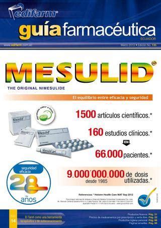 GUIA FARMACEUTICA N° 135 by Edifarm & Cía. - Issuu