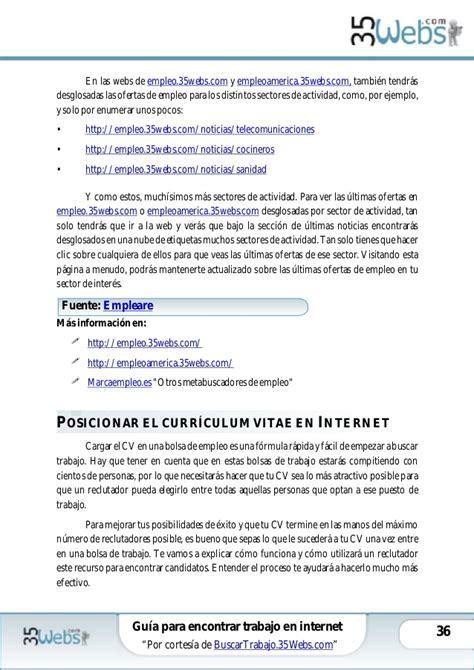 Guía para encontrar trabajo en internet