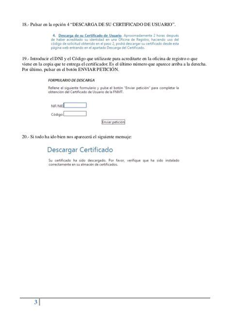 Guia sobre como Solicitar y Descargar un Certificado ...