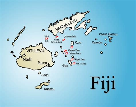 Guide to Fiji Dive Sites | Fiji Diving Sites
