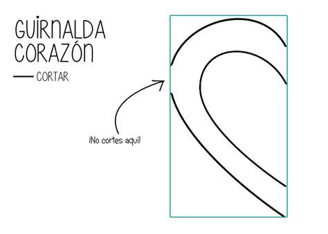 Guirnalda de Corazones | Manualidades