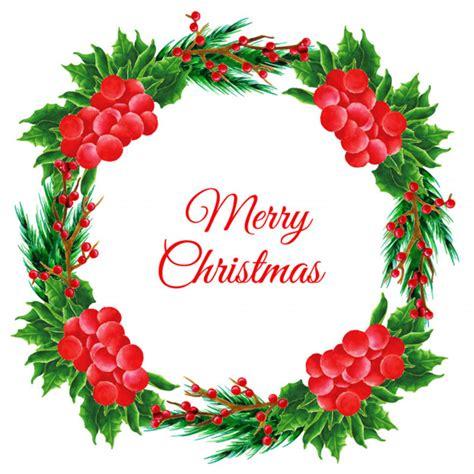 Guirnalda de la Navidad de la acuarela | Descargar ...