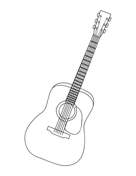 Guitar Coloring Page - zvershtina.info