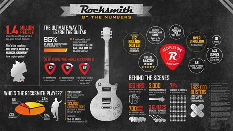 Guitar Infographics - The Rise Of The Information Image ...