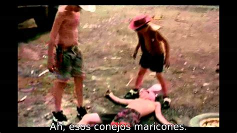 Gummo - Rabbit & Sheriffs Scene (subs español) - YouTube