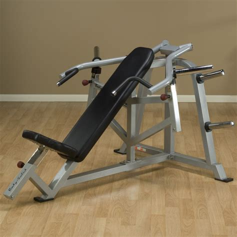 Gym Tipo Hammer Bench Press Inclinado Pecho Convergente ...