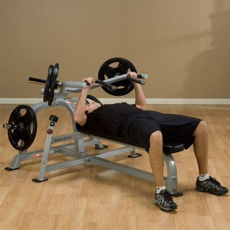 Gym Tipo Hammer Strength Bench Press Pecho Plano ...