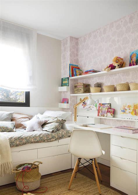 Habitaciones infantiles pequeñas en las que cabe todo