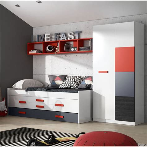 Habitaciones Juveniles Decoradas En Rojo – Cebril.com