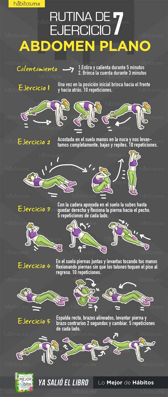 Hábitos Health Coaching | Rutina de ejercicio 7  para ...