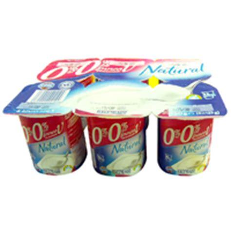 Hacendado yogur natural por de 125g. por 6 unidades ...