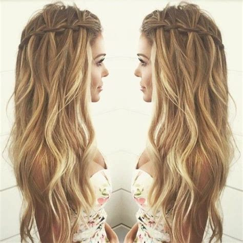 Hair Styles For Curly Long Hair Long A Line Haircuts Easy ...