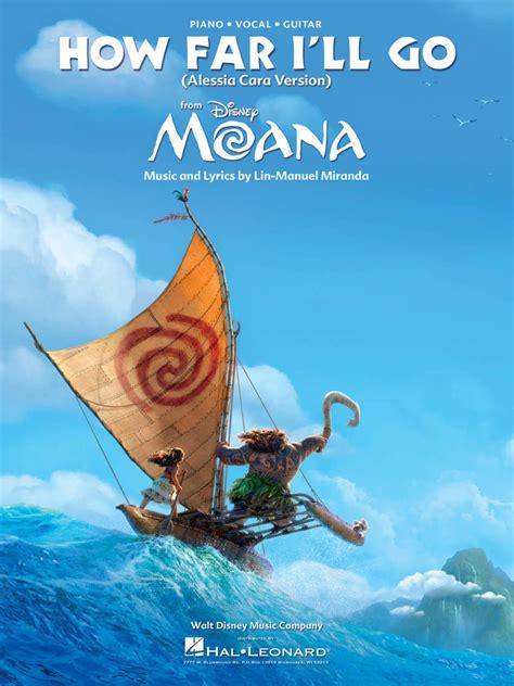Hal Leonard How Far I'll Go (from Moana) - Miranda - Piano ...