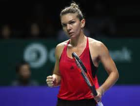 Halep handles Garcia in opening match in Singapore | WTA ...