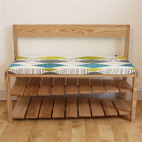 hall bench with shoe storage by a+b furniture ...