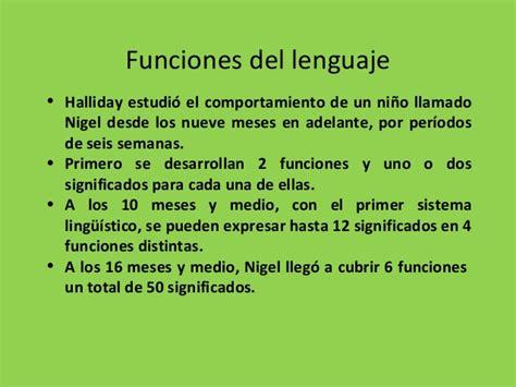 Halliday la linguistica funcional sistemica