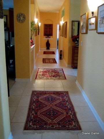 Hallways conduct energy in Feng Shui. Here are examples of ...
