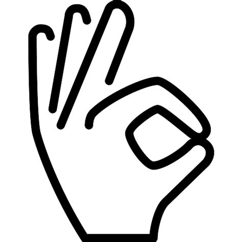 Hand - Free hands and gestures icons