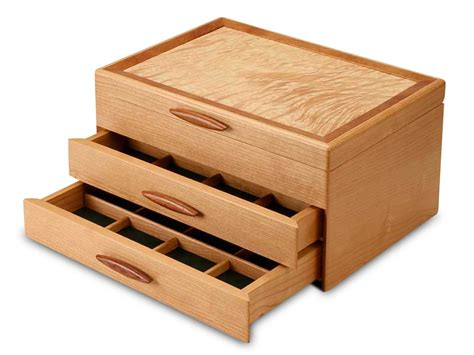 Handmade Wooden Jewelry Boxes for Women and Men ...