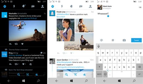 Hands on with the Twitter 5.0 update for Windows 10 Mobile ...