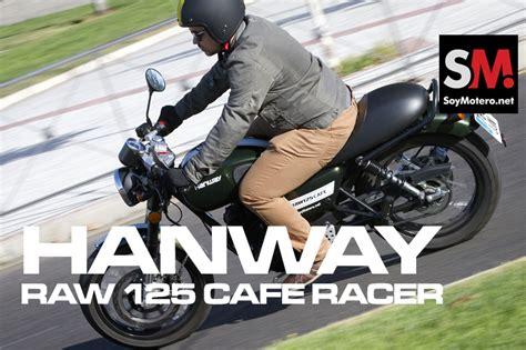 Hanway Raw 125 Cafe Racer: Ficha técnica, fotos, vídeos ...
