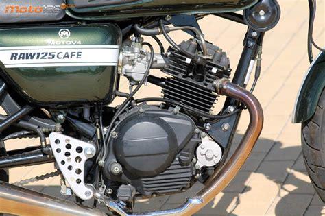 Hanway Raw Café Racer 125   Café bien cargado   Moto 125 cc