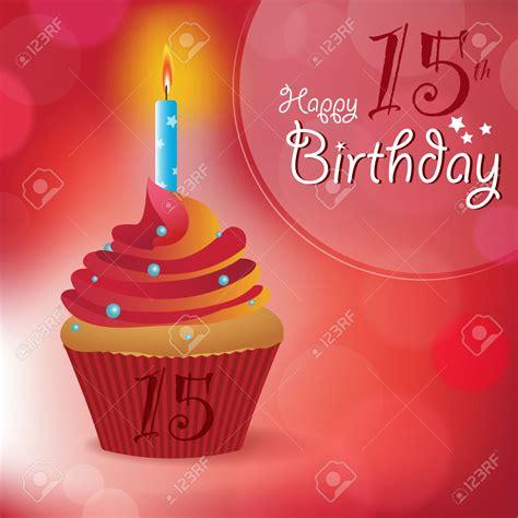 Happy 15th Birthday Clipart