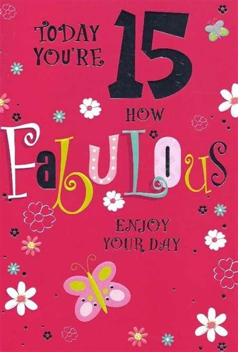 Happy 15th Birthday   | Quotes | Pinterest | Happy 15 ...