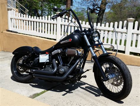 harley dyna street bob black 2010 fxdb   Harley Davidson ...