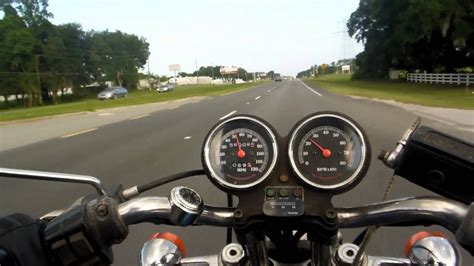 Harley Ride, dry out the Tachometer - YouTube
