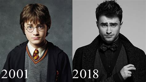 Harry Potter Cast Then and Now   YouTube