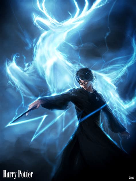 Harry Potter:Expecto Patronum by phamoz on DeviantArt