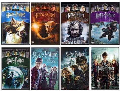 Harry Potter Paquete 8 Peliculas Coleccion Completa Dvd ...
