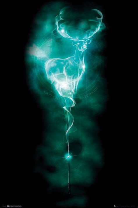 Harry Potter Patronus Stag Poster - Buy Online at ...