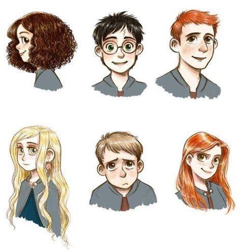 harry potter personajes principales | H P ⚡ | Pinterest ...
