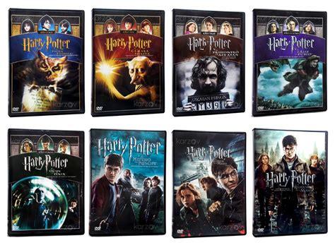 Harry Potter Saga Completa Las 8 Peliculas Originales Dvd ...