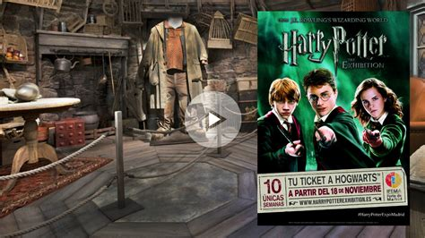 'Harry Potter: The Exhibition': Harry Potter y todos sus ...