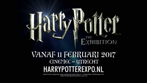Harry Potter The Exhibition | Utrecht - YouTube