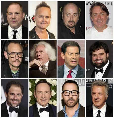 Harvey Weinstein floodgates open on sexual misconduct list ...