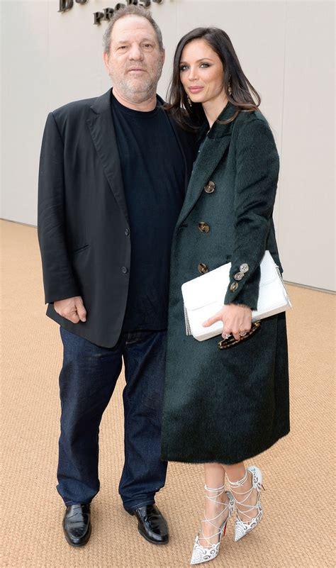 Harvey Weinstein Says Wife Georgina Chapman Is  Standing ...