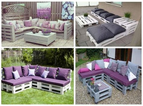 Haz tu propio sofá con palets de madera