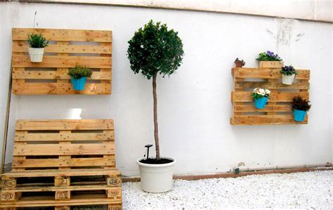 Haz un jardín vertical con palets - Muebles y Palets