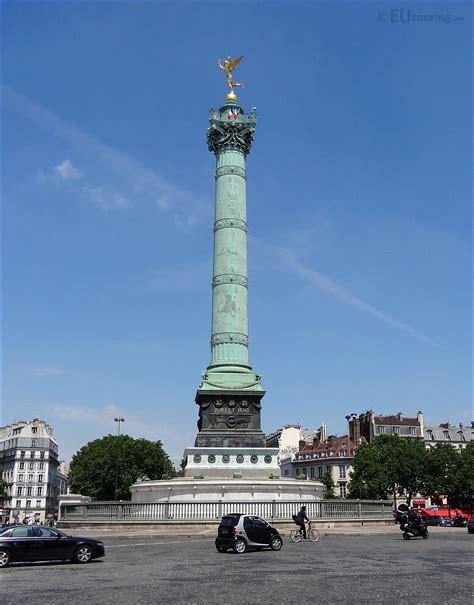 HD Photographs Of Place de la Bastille In Paris France