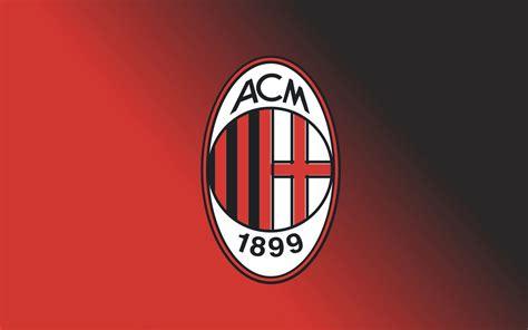 hd wallpaper AC Milan FC Football Logo   Wallpapers Trend