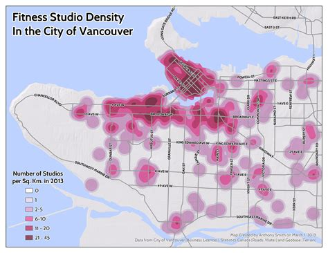 Healthy City Maps: Running Routes and Yoga Studios